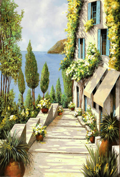 Wall Art - Painting - Un Canarino by Guido Borelli