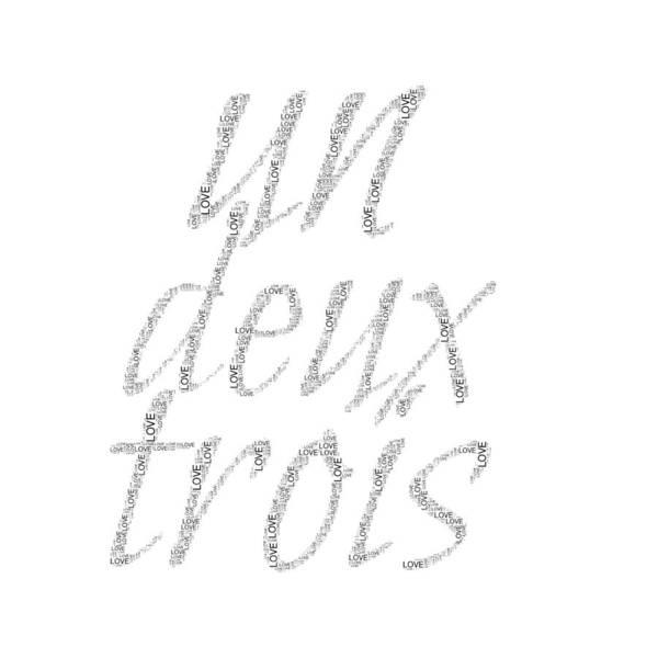 Digital Art - Un Deux Trois by Alice Gipson