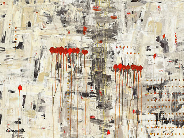 Painting - Un Pour Tous by Carmen Guedez
