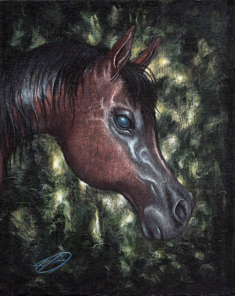 Painting - Unbridled by Joe Burgess