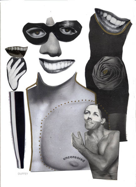 Digital Art - Uncensored by Doug Duffey