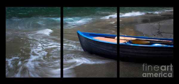 Photograph - Uncertain Future Triptych by Prints of Italy