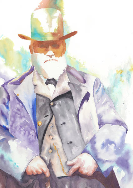 Painting - Uncle David Nation, Circa 1900 by Tara Moorman