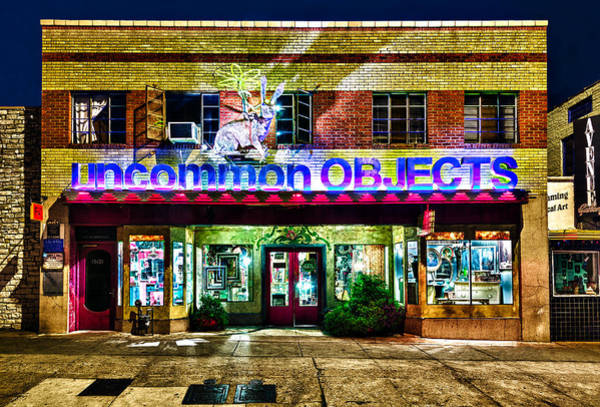 Photograph - Uncommon Objects At Night by John Maffei