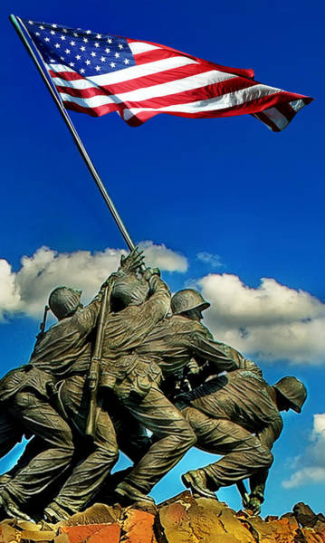 Us Capitol Photograph - Uncommon Valor by Don Lovett