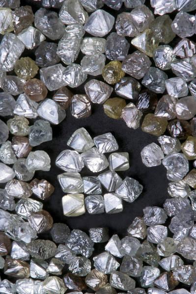 Uncut Photograph - Uncut Diamonds by Kaj R. Svensson
