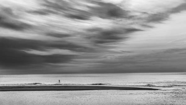 Photograph - Under A Big Sky Bw by Bill Wakeley