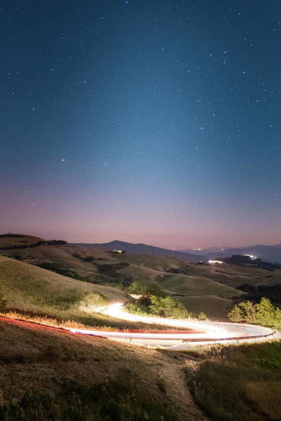 Photograph - Under A Starry Sky by Matteo Viviani