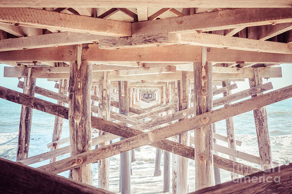 Wall Art - Photograph - Under Balboa Pier Newport Beach by Paul Velgos