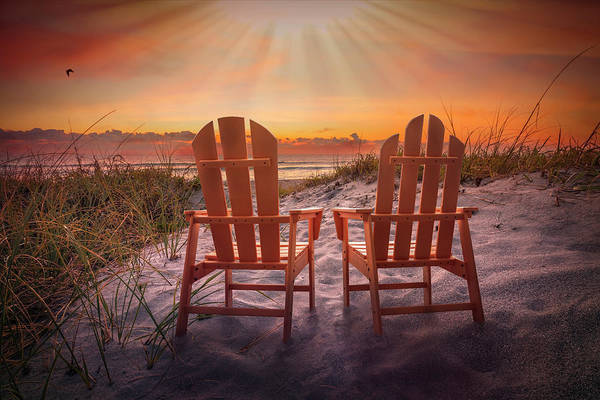 Muscovy Photograph - Under Heaven's Light by Debra and Dave Vanderlaan