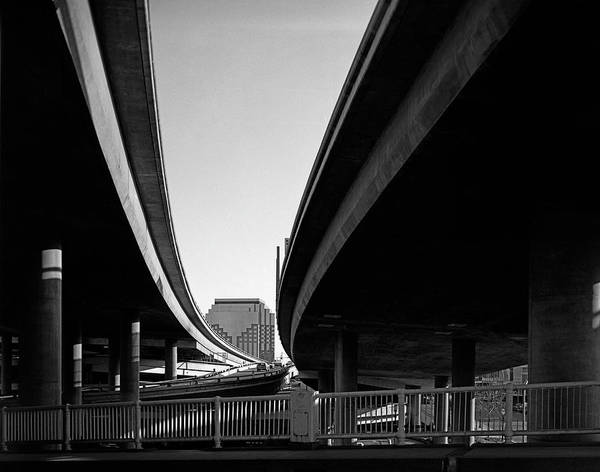 Interstate 5 Wall Art - Photograph - Under Interstate 5 Sacramento by Lee Santa