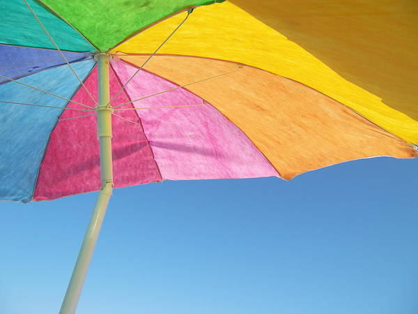 Under My Umbrella Art Print by Mark Siciliano