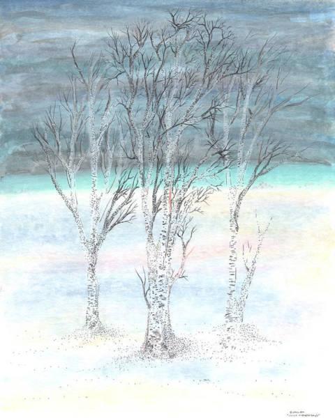 Painting - Under Northern Skies by Regina Valluzzi