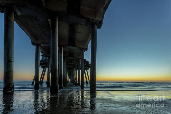 Photograph - Under The Pier by Paul Quinn