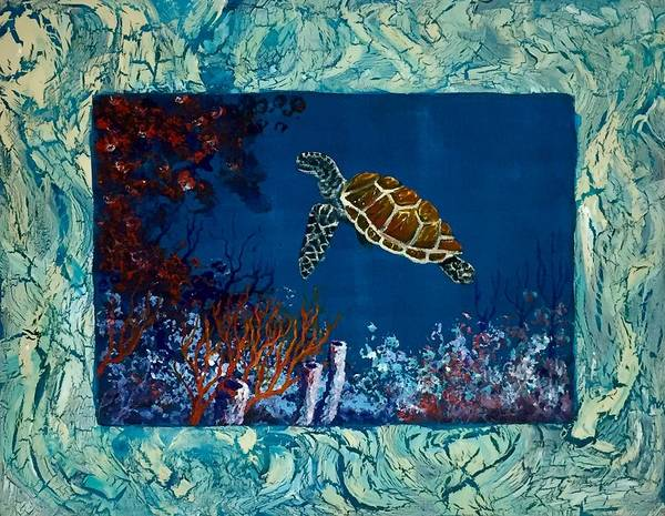 Painting - Under Sea Demo by Darice Machel McGuire