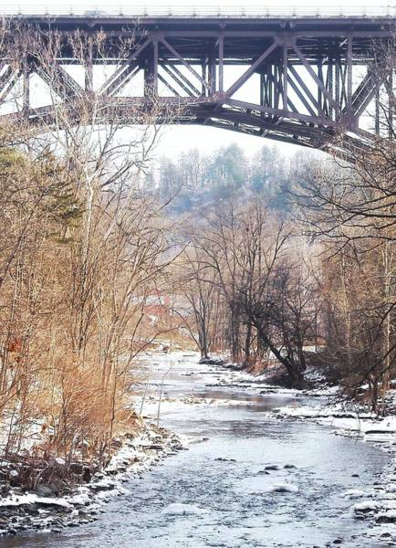 Catskill Photograph - Under The Arch by Ellen Levinson