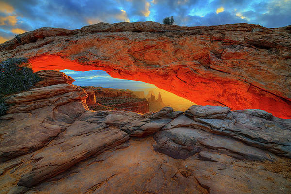 Photograph - Under The Arch by Greg Norrell