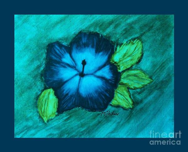 Hibiscus Flower Painting - Under The Blue Heaven by Marsha Heiken