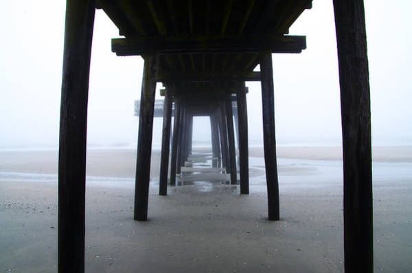 Wall Art - Photograph - Under The Boardwalk by Bill Cannon