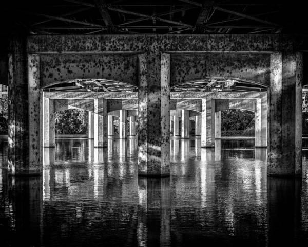 Photograph - Under The Bridge In Austin by Michael Ash