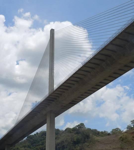 Under The Bridge Through Panama Art Print