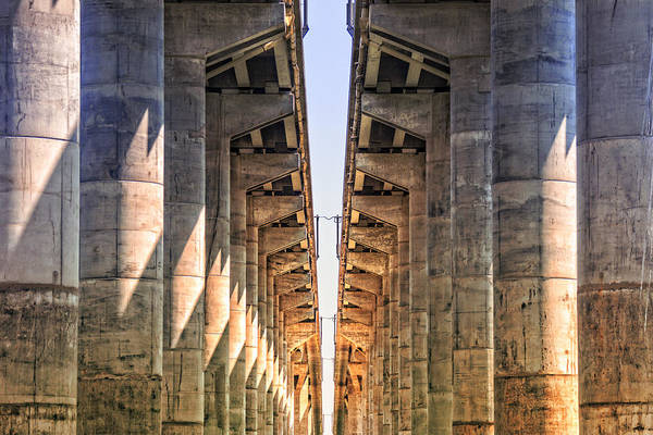 Wall Art - Photograph - Under The Bridge by Michel Emery