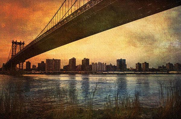 Uptown Manhattan Photograph - Under The Bridge by Svetlana Sewell
