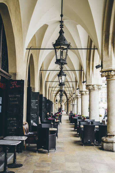Wall Art - Photograph - Under The Cloth Hall Of Krakow, The Sukiennice by Pati Photography