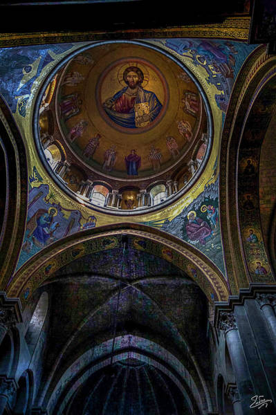 Church Of The Holy Sepulcher Photograph - Under The Dome by Endre Balogh