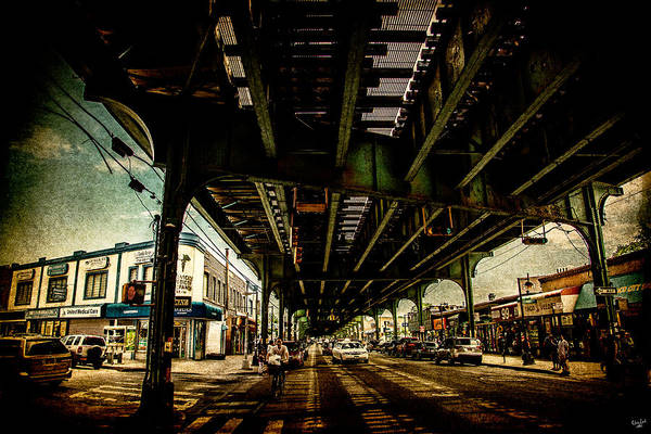 Photograph - Under The El by Chris Lord