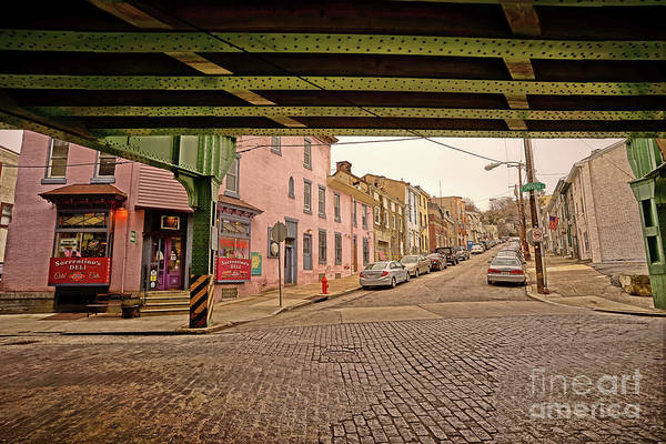 Wall Art - Photograph - Under The El Manayunk 2 by Jack Paolini
