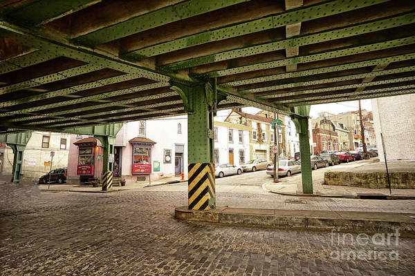 Wall Art - Photograph - Under The El Manayunk 3 by Jack Paolini