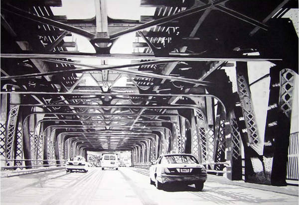 Painting - Under The El by Scott Robinson