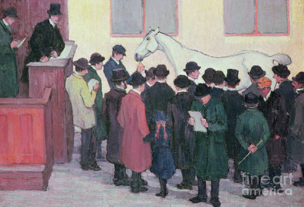 Wall Art - Painting - Under The Hammer By Robert Polhill Bevan by Robert Polhill Bevan