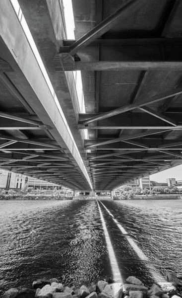 Photograph - Under The Hennepin Avenue Bridge by Jim Hughes
