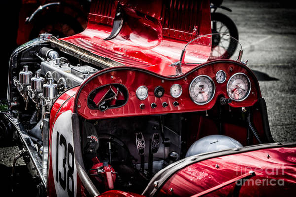 Pedal Car Wall Art - Photograph - Under The Hood by Adrian Evans