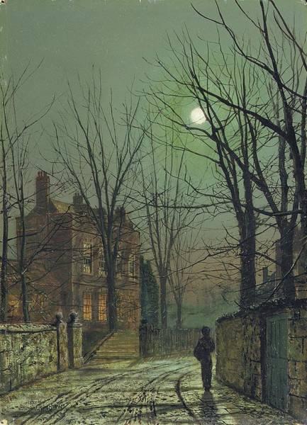 John Atkinson Grimshaw - Under The Moon