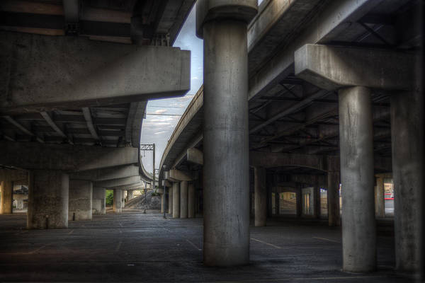 Photograph - Under The Overpass I by Break The Silhouette