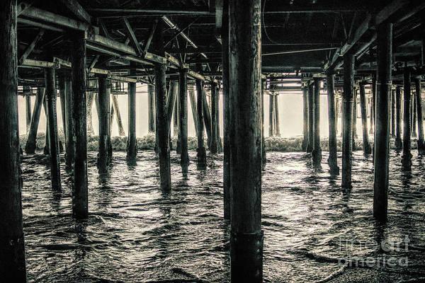 Photograph - Under The Pier 3 by Joe Lach