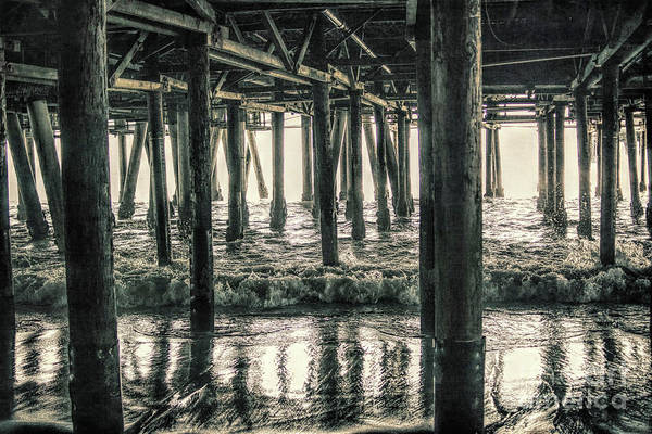 Photograph - Under The Pier 5 by Joe Lach
