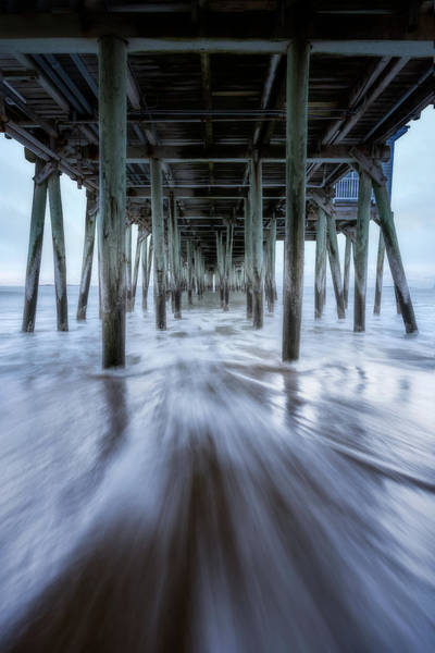 Wall Art - Photograph - Under The Pier At Old Orchard Beach by Jeff Bazinet