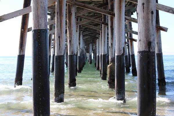 Photograph - Under The Pier by Brian Eberly