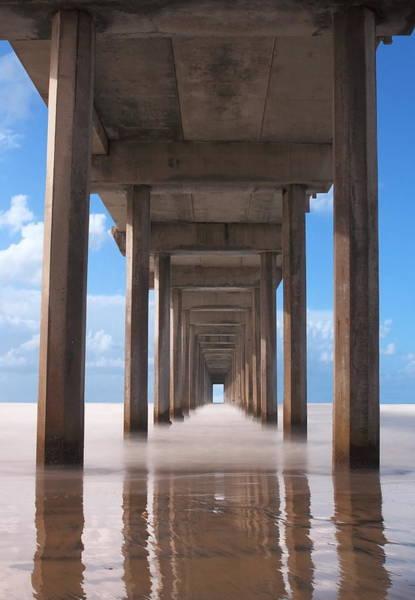 Scripps Pier Photograph - Under The Pier by David Cornelius