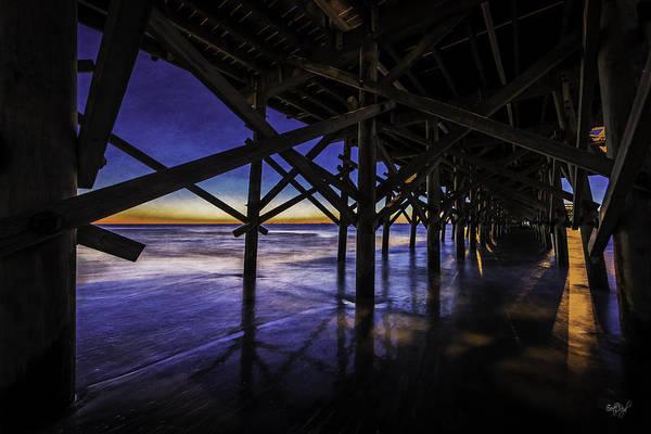 Myrtle Beach Wall Art - Photograph - Under The Pier by Everet Regal