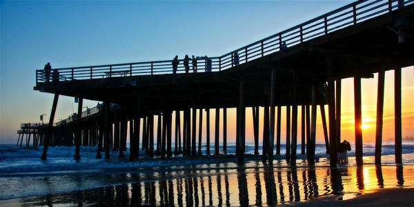 Photograph - Under The Pier, Pismo Beach Pier, California by Flying Z Photography by Zayne Diamond