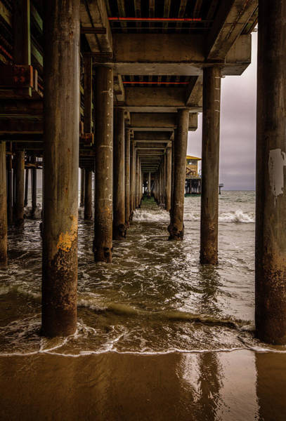 Photograph - Under The Pier by Gene Parks