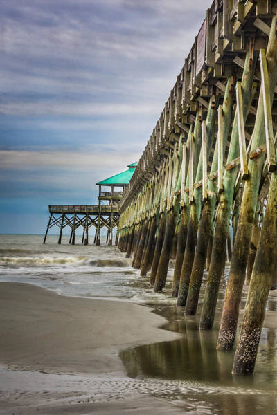 Photograph - Under The Pier by James Woody