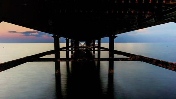 Wall Art - Photograph - Under The Pier by Stelios Kleanthous