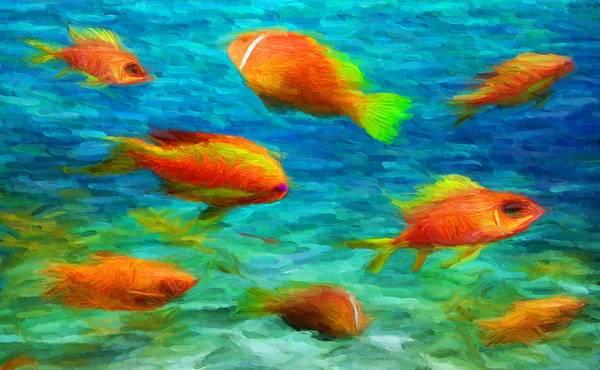 Digital Art - Under The Sea by Caito Junqueira