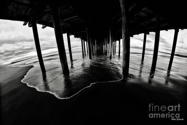 Photograph - Under The Sea Cliff State Beach by Blake Richards
